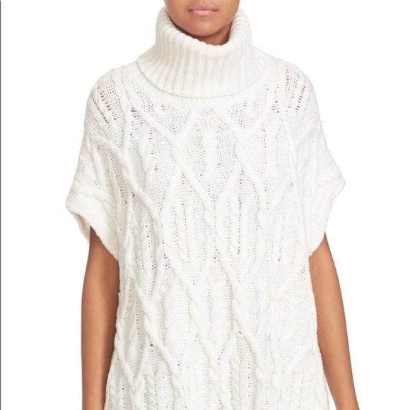 Theory Wool Turtleneck Sweater Vest